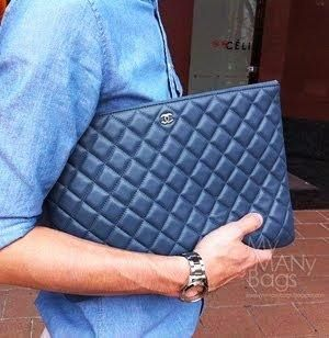 ca00e52e78d5 Chanel Quilted Lambskin O-Case