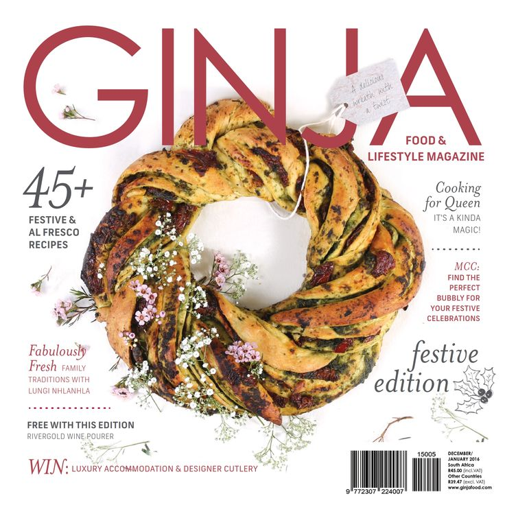 GINJA Food & Lifestyle Magazine Issue '21 - Purchase your digital or print subscription from http://www.ginjafood.com/shop/ or email