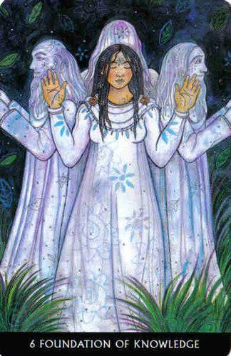 6 Of Pentacles Celtic Wisdom Tarot From The Tarot