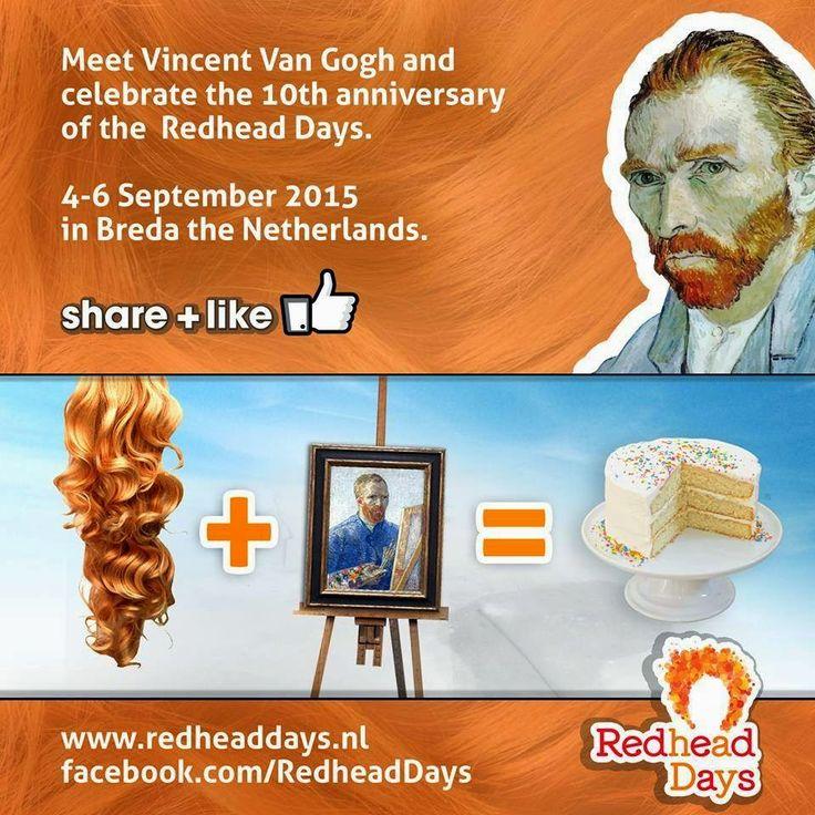 Roodharigendag / Redhead Days 2015