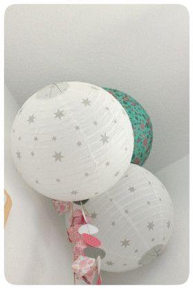 Suspension boules chinoises