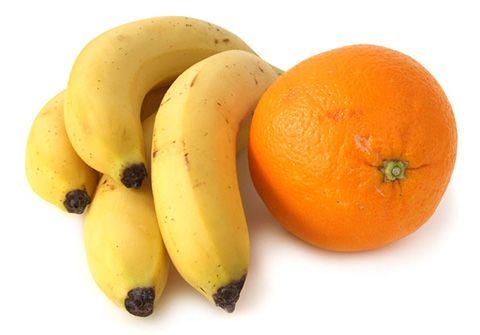 Potassium packed picks like bananas and oranges reduces highblood pressure.