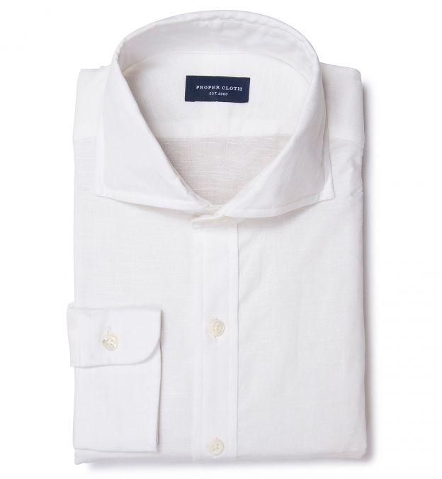 Natural White Cotton Linen
