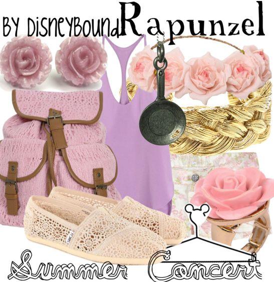 DisneyBound Casual | Tags alice in wonderland disney disneybound fashion summer concert