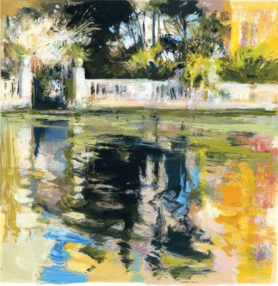 """Balaustrada""Venecia 50x50cm.M.Teresa  Martin-Vivaldi"