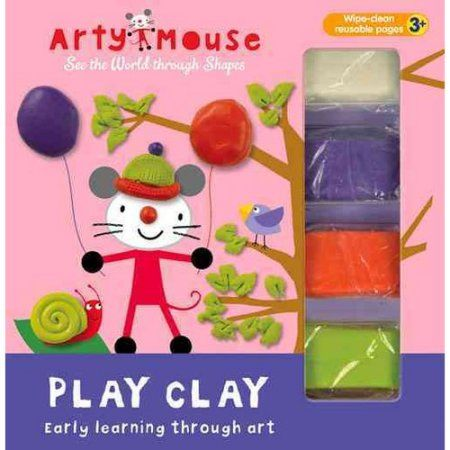 Arty Mouse Play Clay: Early Learning Through Art