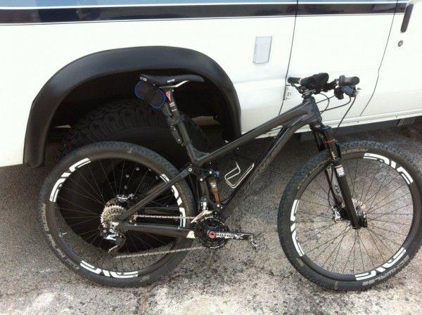 "Turner Bikes Carbon Fiber 29"" mountain bike called the Czar"
