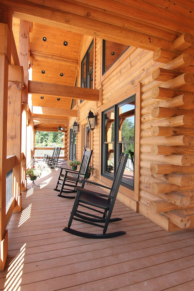 Southland Log Home Photos & Pictures | Longleaf Lodge 012