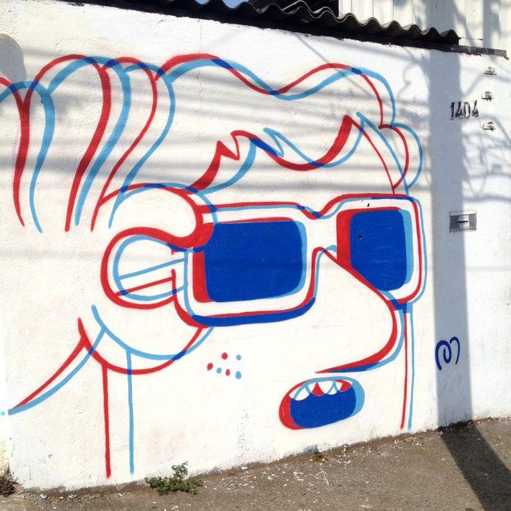 Muretz | Brazil #StreetArt #3D