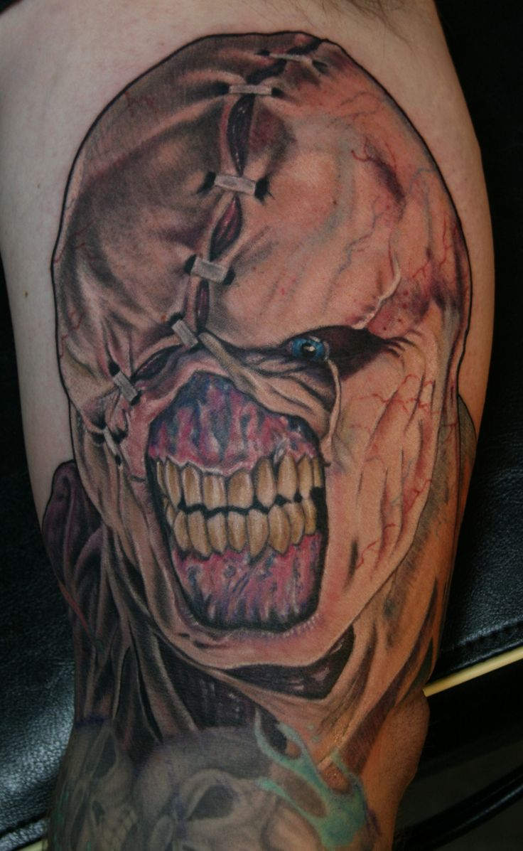 1000+ images about Horror Tattoos on Pinterest | Zombie ...
