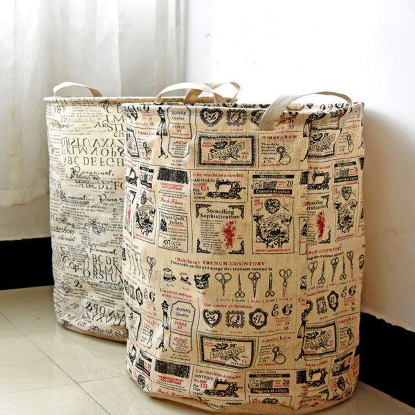 Storage Basket Retro European