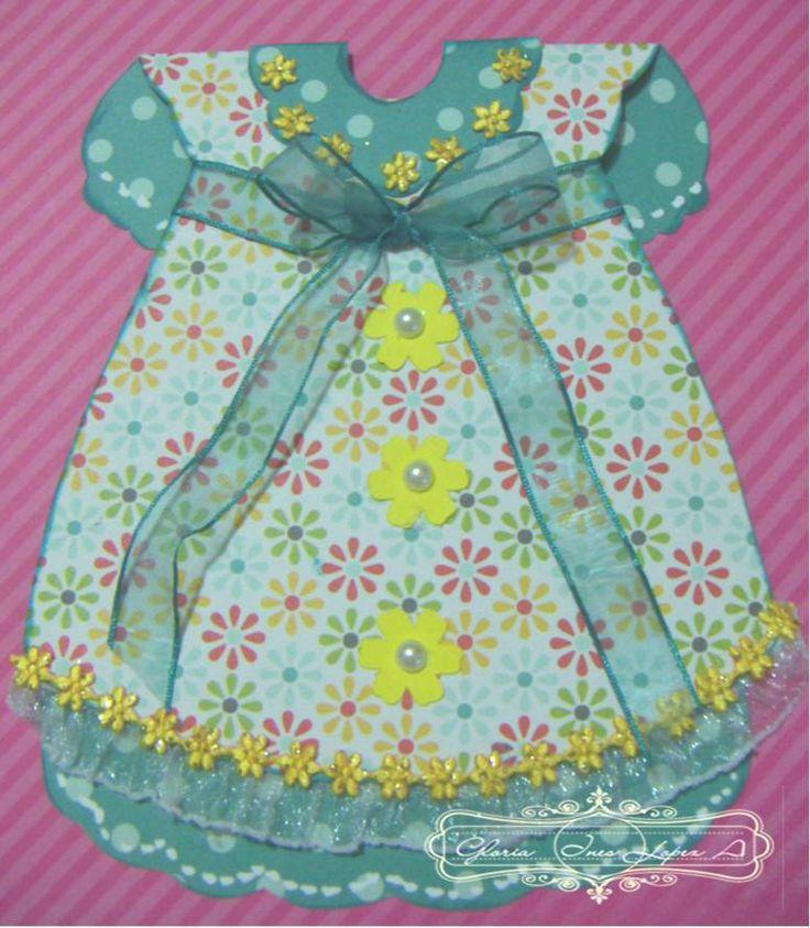 tarjeta vestido