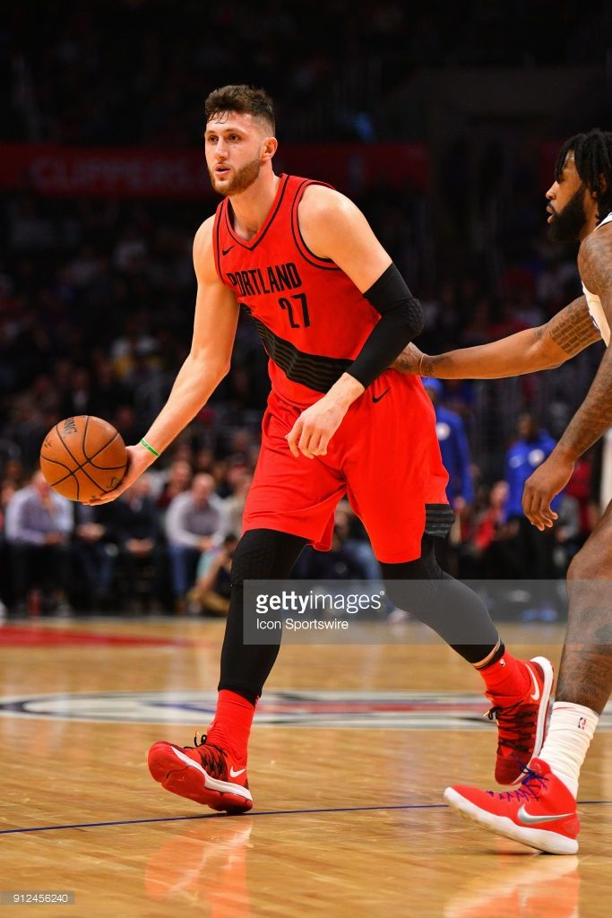 News Photo Portland Trail Blazers Center Jusuf Nurkic Looks Portland Trailblazers Portland Trail Trail Blazers