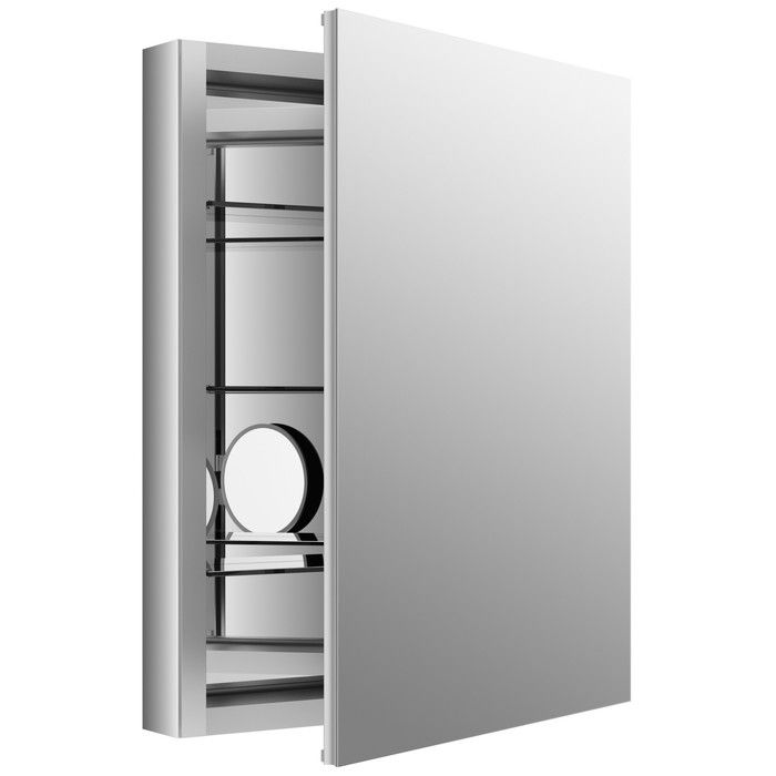 Kohler Verdera 24 W X 30 H Medicine Cabinet With Adjustable Magnifying Mirror