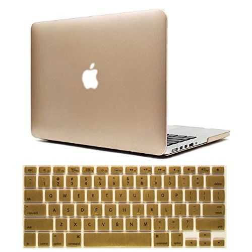 Iwotou Gold Frost Surface Hard Shell Case Cover With Silicone Skin Protective Keyboard Film Cover For 13-Inch A1278 Aluminum Unibody MacBook Pro (Gold) IWOTOU http://www.amazon.com/dp/B00MA5HFY2/ref=cm_sw_r_pi_dp_OQCVub0A8M60W