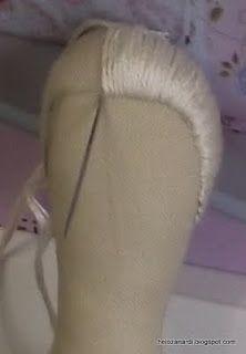 Tilda Hair Tutorial  ~  Tilda: SALT OF TILDA PAJAMA - 2nd AIM