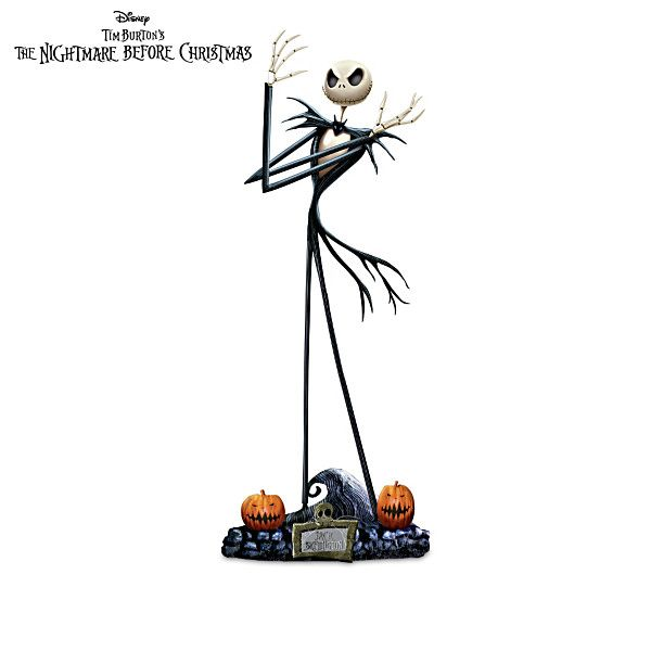 The Nightmare Before Christmas Sculpture Collection - Issue One: Jack, Two: Sally, Three: The Mayor.....