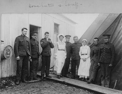 Olive Tree Genealogy Blog: Nursing Sister WW1 Photo Album: 27V Nurses & Staff...