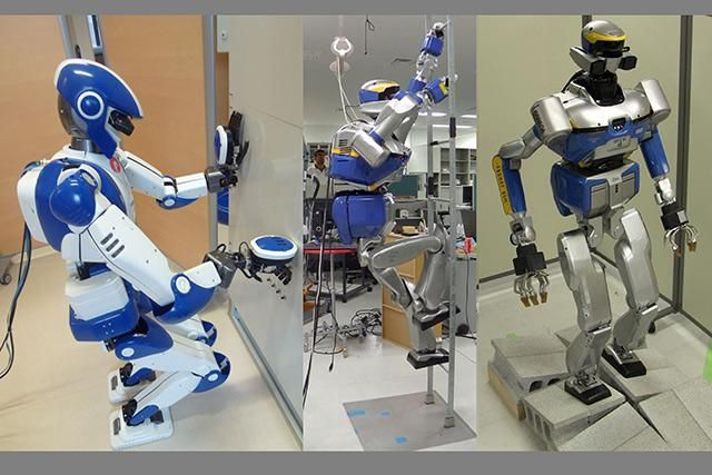 Humanoid robots may one day relieve human engineers when carrying out difficult and dangerous tasks