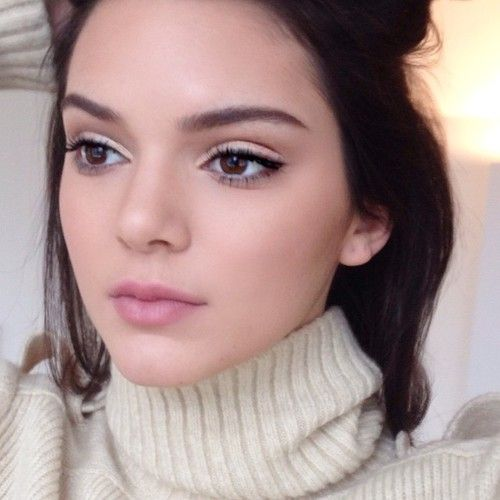 Kendal's neutral makeup ❤ ℒℴvℯly
