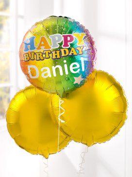 Personalised Happy Birthday Balloons