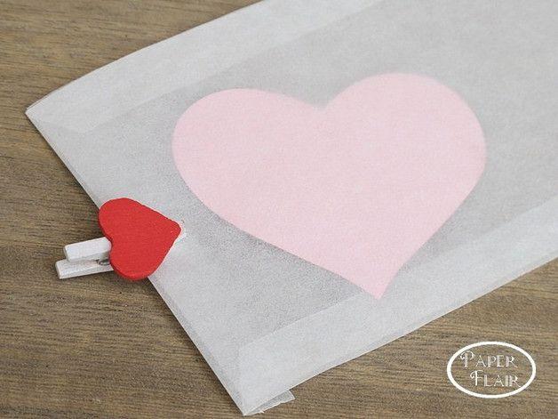 Papiertüten - Pergamintüten 25 Stck. - ein Designerstück von Paperflair bei DaWanda