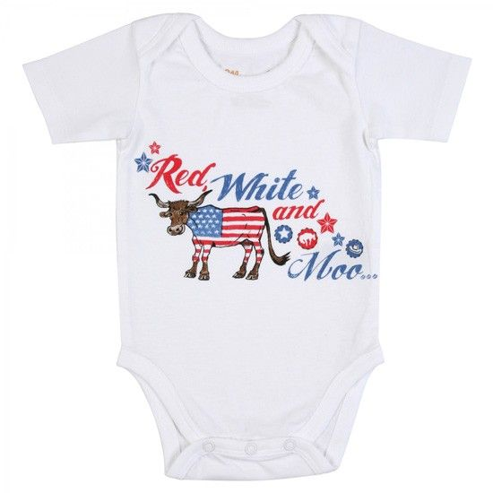 All Around Baby by Wrangler Red White And Moo