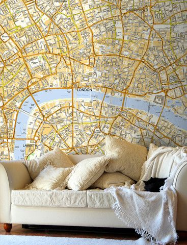 Map Wallpaper - London Ordnance Survey Street Map