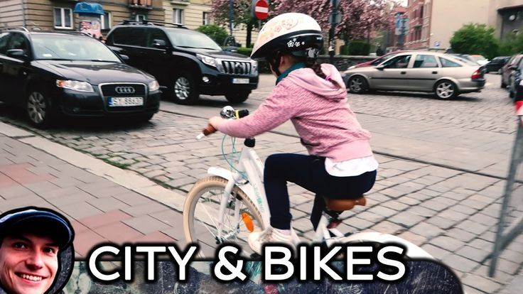 Trip arround the city on the bicycle - Bytom - Poland