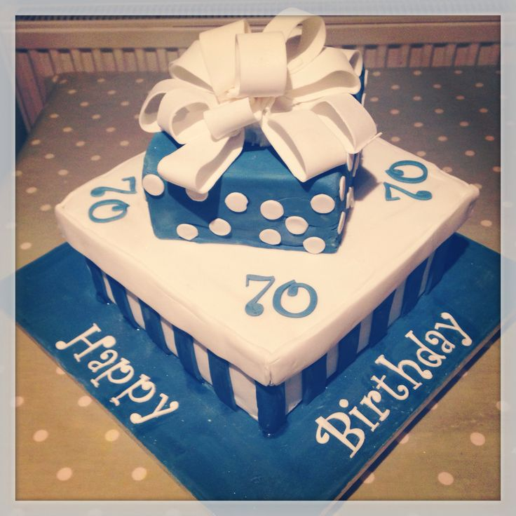 70th Birthday Cake In 2019 70th Birthday Cake 60th