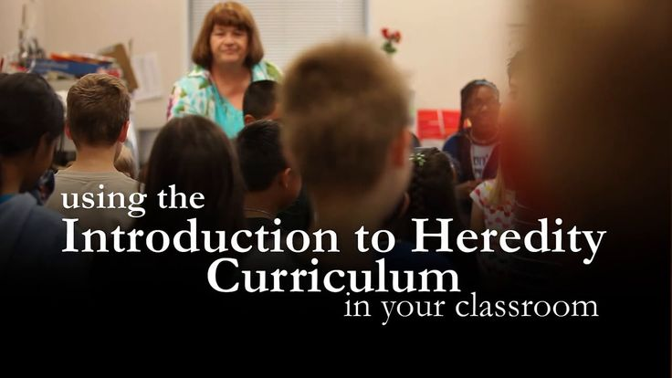 LOVE these resources and the new video on how to use the lesson plans - Using the Introduction to Heredity Curriculum with your Class http://teach.genetics.utah.edu/content/heredity/