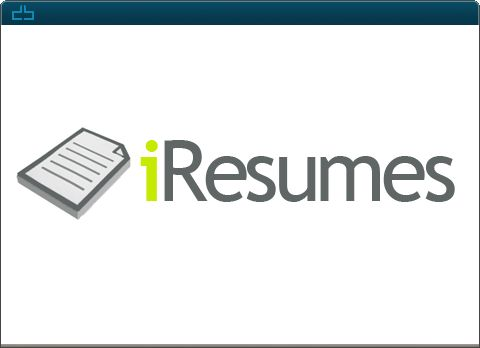 Design by DrawBlue.com - iResumes -  Custom Logo Design -  iResumes is a custom resume and cover letter design company that also helps clients with interviews, and job prospecting.