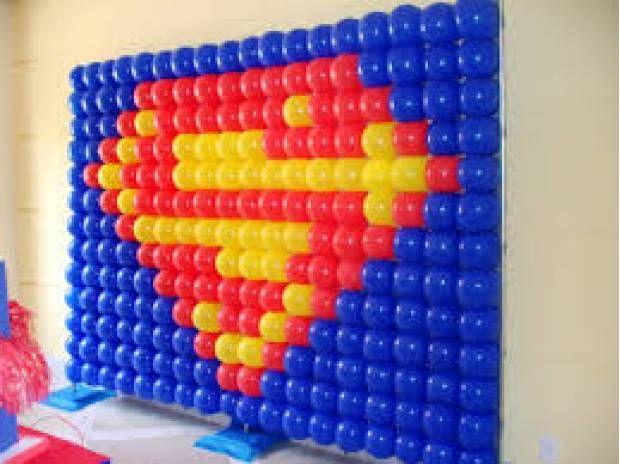 Fotos para Painel pds e decoracao com bolas... 80,00 + 100 bolas