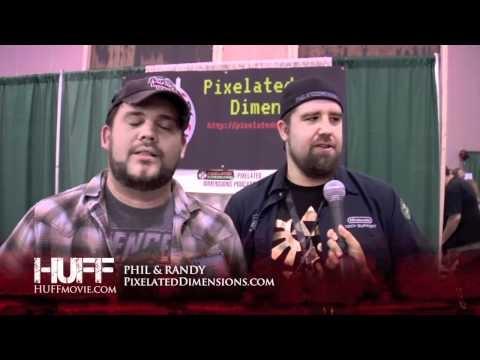 Pixelated Dimension HUFF MOVIE Review, Comic Con WizardWorld