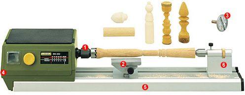 PROXXON DB250 MICRO-Soustruh na dřevo-27020