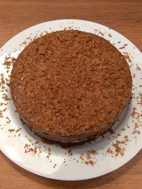 Un gâteau croustillant au chocolat et aux poires, un dessert tout en délicatesse à accompagner d'une petite crème anglaise ! Une véritable gourmandise !