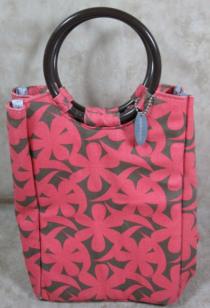 Fit-Fresh Ladies Retro Insulated Lunch Bag with Reusable Ice Pack  #NotApplicable