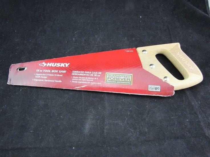 """Husky 688 632 15"""" Tool Box Saw"""