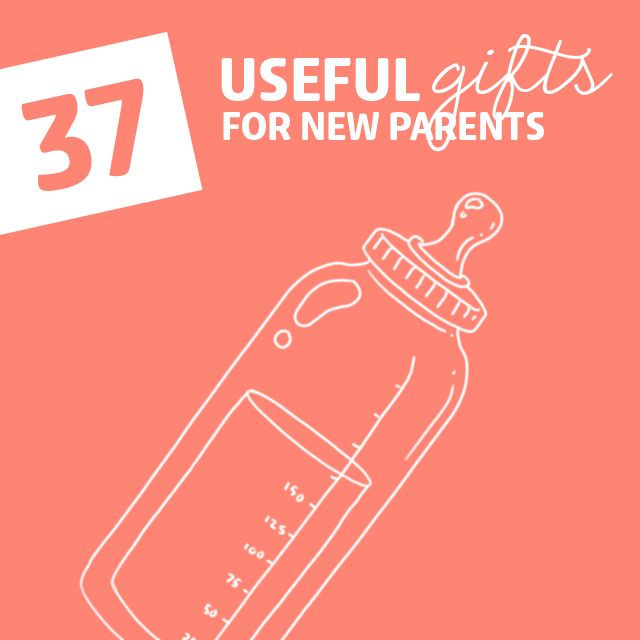 37 Extremely Useful Gifts for New Parents- just don't keep everything you buy!