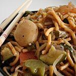 Recette Chow mein aux légumes