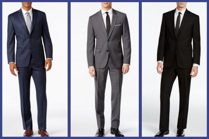 DO: Wear a classic suit in neutral colours. This is the most appropriate funeral attire for men. #loveliveson