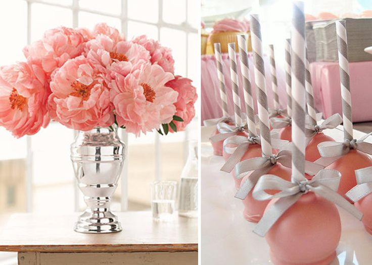 Whimsical Wedding Cake Pops Colors White Silver
