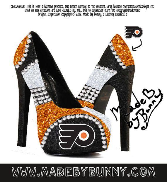 Made to Order Philadelphia Flyers NHL Hockey by MadeByBunny, $75.00 YES !!!!!!