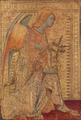 The Angel of the Annunciation - Simone Martini