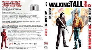 Walking Tall The Trilogy Bluray Cover