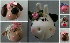 http://www.flickr.com/photos/koisasdakeka/  porcelana fria polymer clay