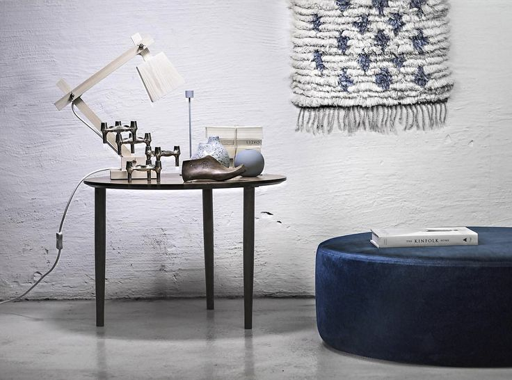 @johannapilfalk No.4 Velour Petro   #danishdesign #furniture #scandinaviandesign #interiordesign #furnituredesign #nordicinspiration #retrostyle #blue #Pouf #Velour Samt