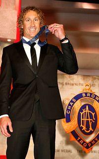 Matt Priddis wins the 2014 Brownlow Medal.