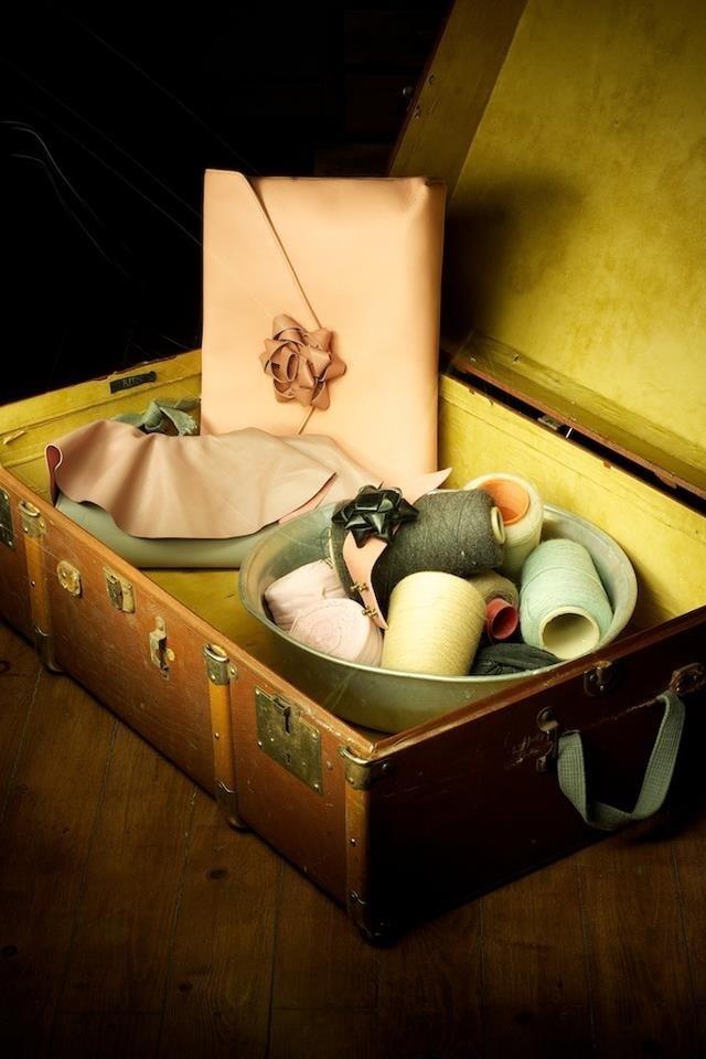 leather handmade bags!