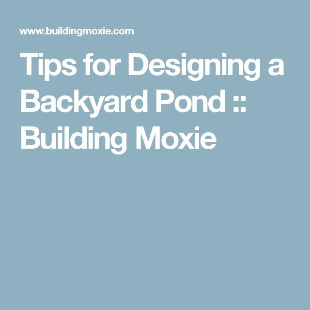 25 Best Ideas About Backyard Ponds On Pinterest Ponds